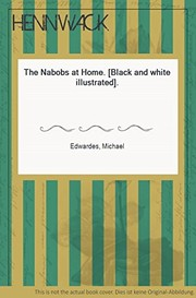 The nabobs at home / Michael Edwardes.