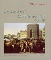 Boime, Albert. Art in an age of counterrevolution, 1815-1848 /