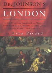 Picard, Liza, 1927- Dr. Johnson's London :