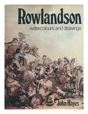 Hayes, John T.  Rowlandson : watercolours and drawings /