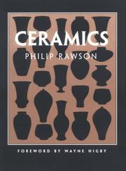 Ceramics / Philip Rawson.