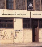 Jock McFadyen : a book about a painter / by David Cohen.