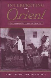 Interpreting the Orient :