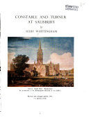 Whittingham, Selby. Constable and Turner at Salisbury.