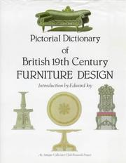 Pictorial dictionary of British 19th century furniture design :