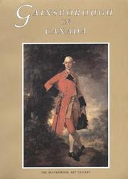 Lumsden, Ian G. Gainsborough in Canada /