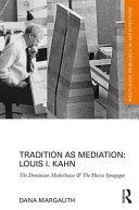 Margalith, Dana, author.  Tradition as mediation :