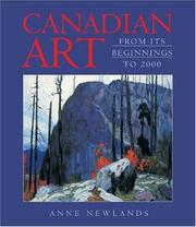 Newlands, Anne. Canadian art :