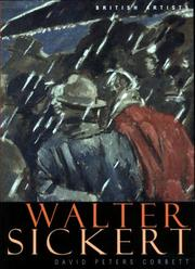 Peters Corbett, David, 1956- Walter Sickert /