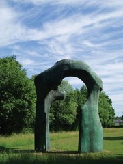 Henry Moore Foundation. Henry Moore at Perry Green.