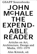 McHale, John.  The expendable reader :
