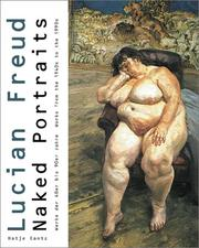 Freud, Lucian. Lucian Freud, naked portraits :