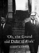 """Oh, the grand old Duke of York"" / Gilbert & George, 1972."